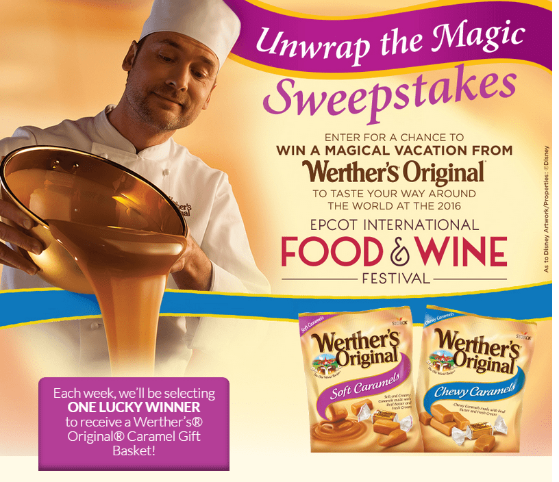 Werther's Unwrap the Magic Sweepstakes