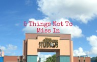 5 Things You Won't Want to Miss in Disney's Hollywood Studios