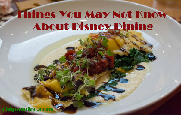 10 Secrets You May Not Know About Disney Dining
