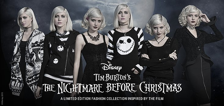 The Nightmare Before Christmas Inspired Line Hits Hot Topic