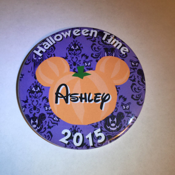 Disney Inspired Buttons for the Parks