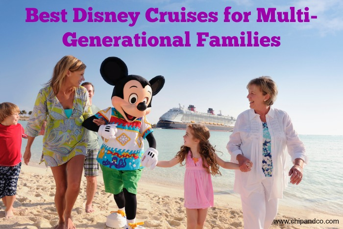 Best Disney Cruises for Multi-Generational Families