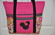 Disney Find- Beautiful Handmade Quilted Handbags