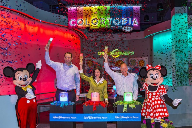 Colortopia Exhibit in Innoventions at EPCOT Presented by Glidden Paint