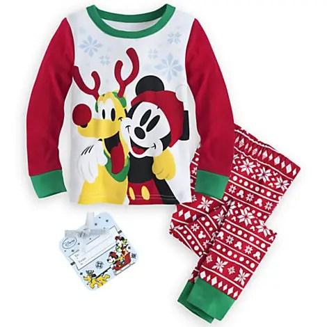 88764b025e Christmas Pajamas Now on Sale at the Disney Store
