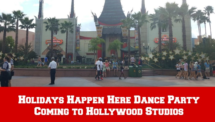 Disney's Hollywood Studios Introduces Holidays Happen Here Dance Party