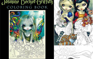Disney Find- Jasmine Becket-Griffith Coloring Book