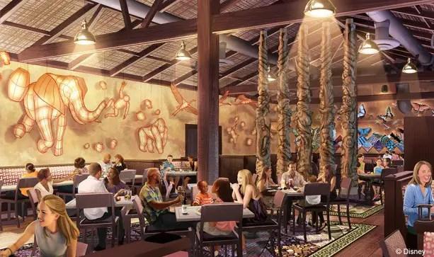 "New Disney Signature Restaurant ""Tiffins"" Coming to Animal Kingdom in 2016"