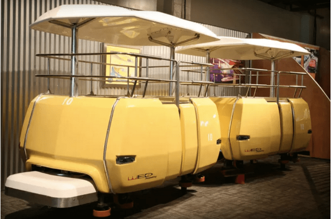 A Car from the Disneyland PeopleMover Just Sold for a Fortune!