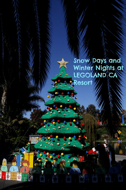 Snow Days and Winter Nights at LEGOLAND California Resort