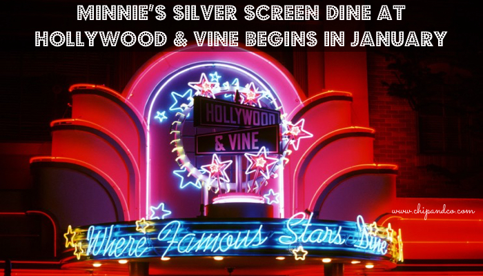 New Minnie's Silver Screen Dine at Hollywood & Vine Arrives Just in Time for Academy Awards Season