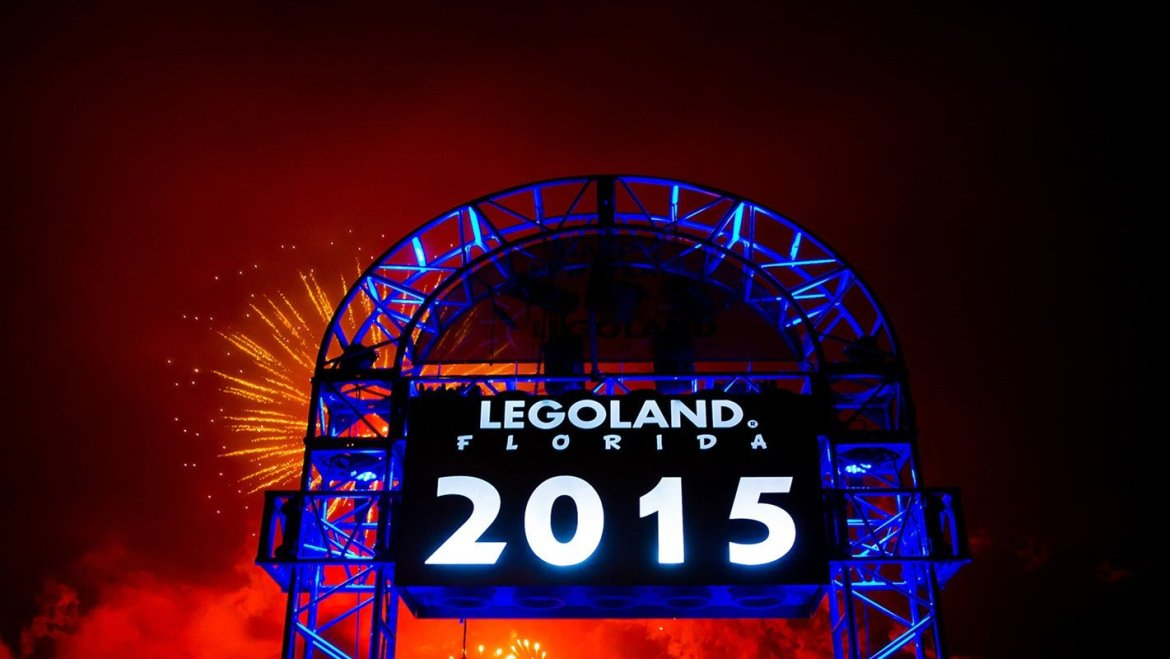 Ring in the New Year at LEGOLAND Florida Resort