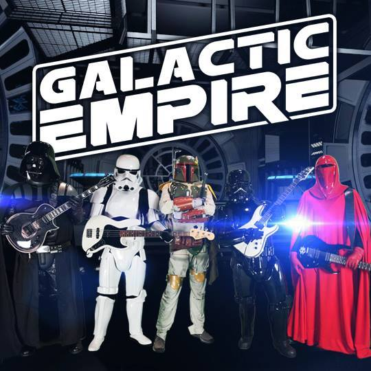 Rock out to Star Wars with Galactic Empire!