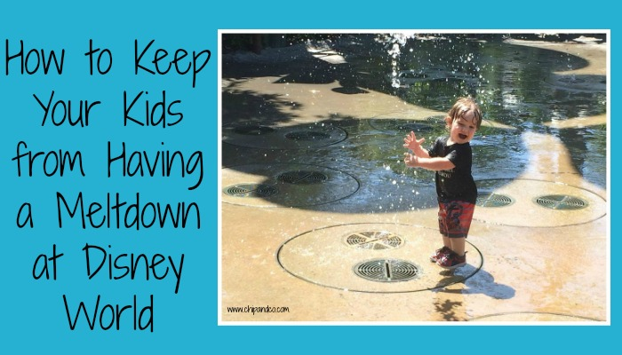 How to Keep Your Kids from Having a Meltdown at Disney World