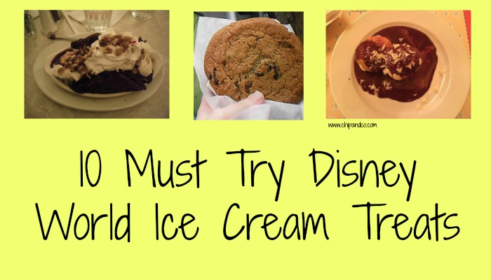 10 Must Try Disney World Ice Cream Treats