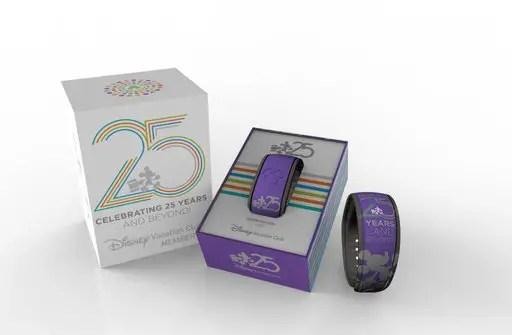 Coming Soon – New 25th Anniversary Disney Vacation Club Merchandise!
