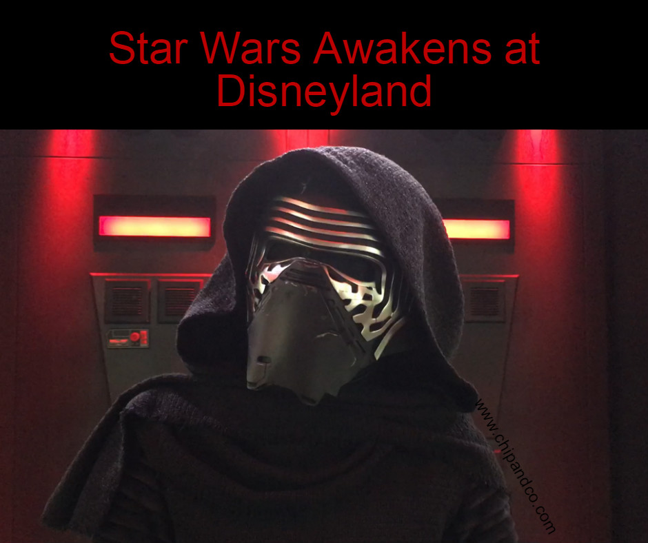 Star Wars Awakens at Disneyland Resort