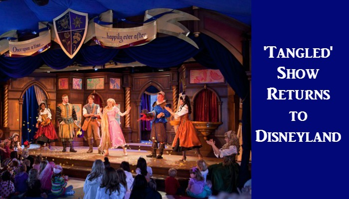 'Tangled' is Returning to the Royal Theater at Disneyland