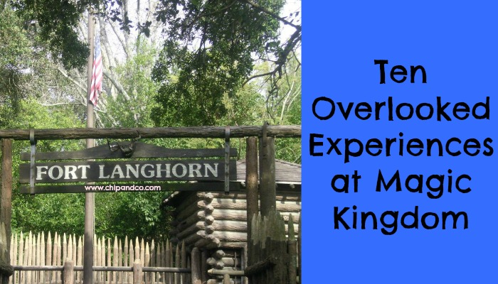 Ten Overlooked Experiences at Magic Kingdom