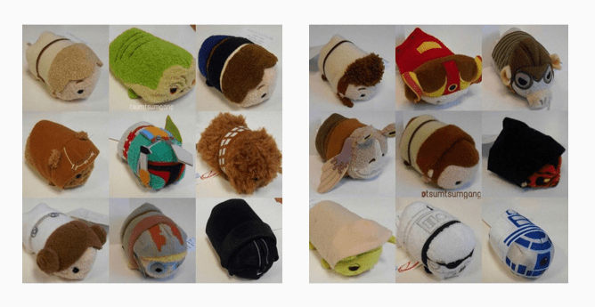 Star Wars Tsum Tsum Collection Revealed