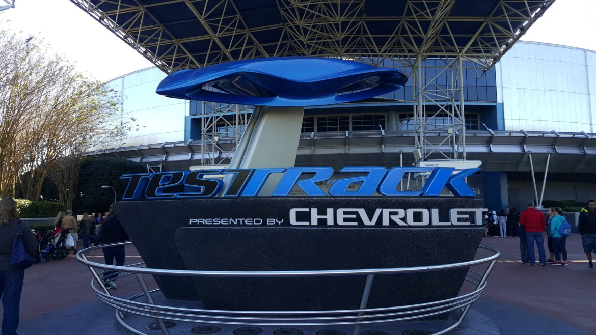 Weird things happen on Epcot's Test Track!