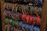 Leather name bracelets at Frontier Trading Post