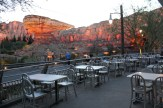 View of Radiator Springs Racer's from Flo's
