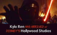 Kylo Ren Has Arrived at Hollywood Studio's Star Wars Launch Bay