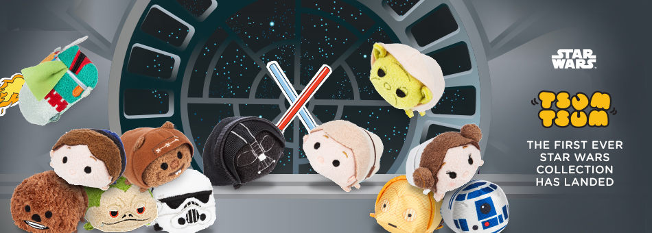 The First Ever Star Wars Tsum Tsum Collection Has Landed