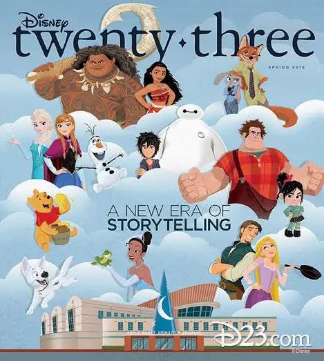 Disney twenty three story telling in true Walt Disney fashion!
