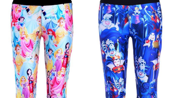 Train Like a Princess or a Villain with Disney Athletic Leggings