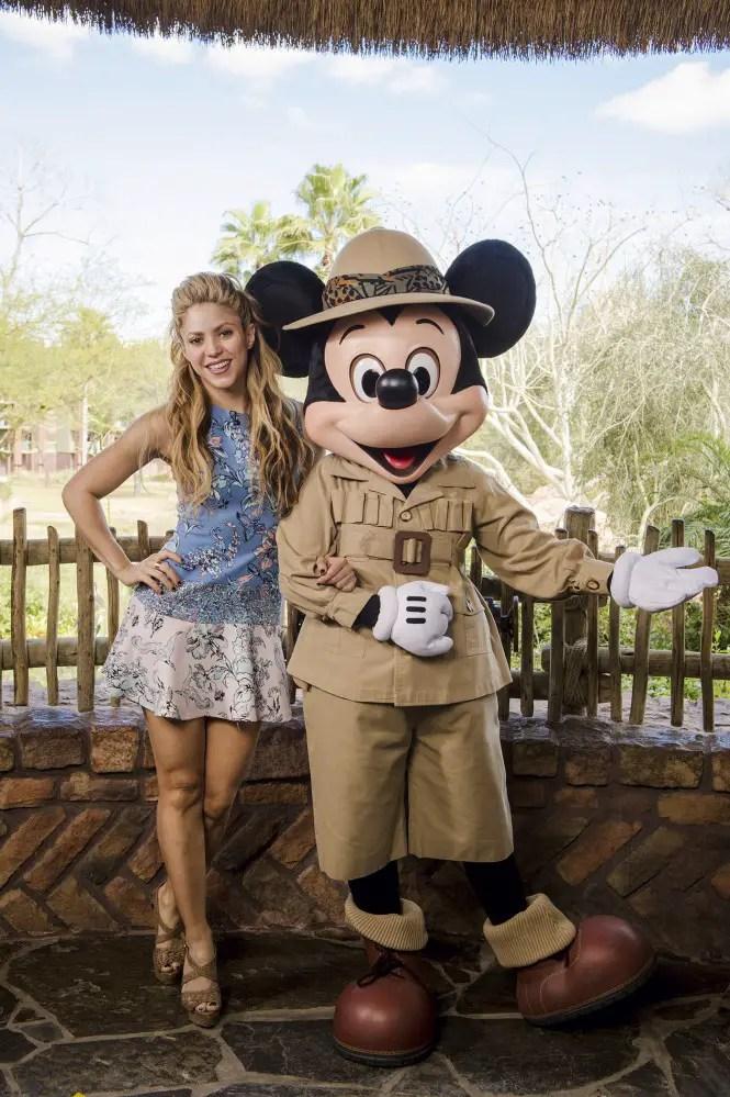 Jason Bateman, Shakira and Patti LeBelle drop by Walt Disney World