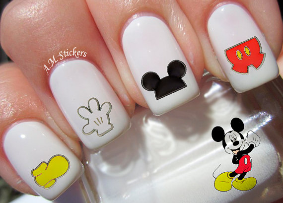Totally Darling Disney Nail Decals For Your Inner Fashionista