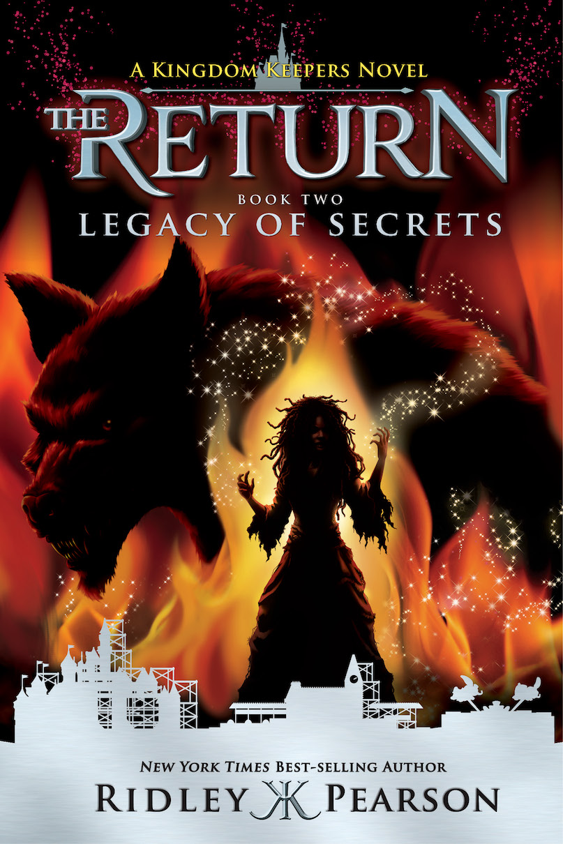 Meet Ridley Pearson: Author of Kingdom Keepers Series at Disney World on March 25th & 26th