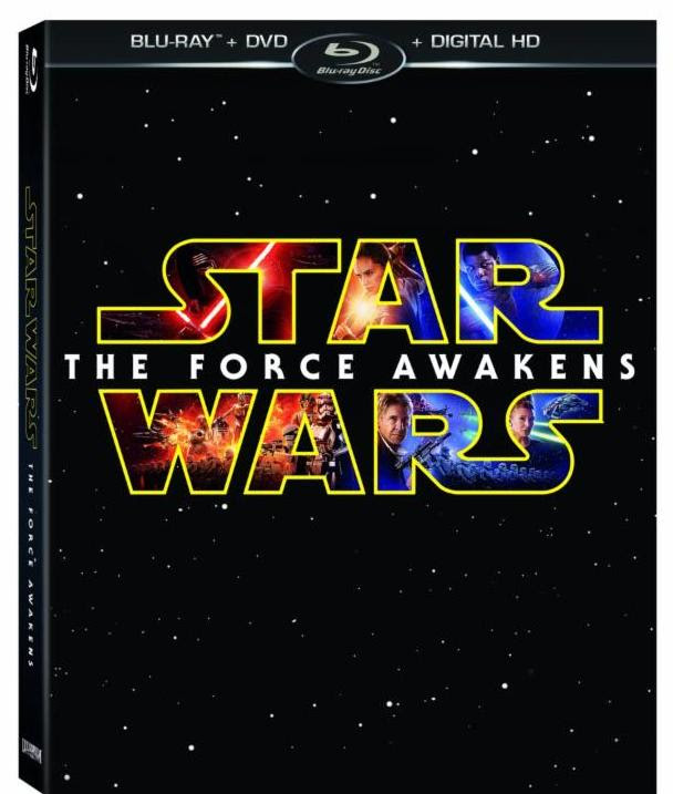 Star Wars: The Force Awakens comes to Bluray/DVD this April