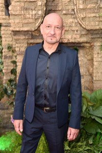 """HOLLYWOOD, CALIFORNIA - APRIL 04: Sir Ben Kingsley attends The World Premiere of Disney's """"THE JUNGLE BOOK"""" at the El Capitan Theatre on April 4, 2016 in Hollywood, California. (Photo by Alberto E. Rodriguez/Getty Images for Disney) *** Local Caption *** Ben Kingsley"""