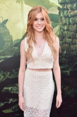 """HOLLYWOOD, CALIFORNIA - APRIL 04: Actress Katherine McNamara attends The World Premiere of Disney's """"THE JUNGLE BOOK"""" at the El Capitan Theatre on April 4, 2016 in Hollywood, California. (Photo by Alberto E. Rodriguez/Getty Images for Disney) *** Local Caption *** Katherine McNamara"""