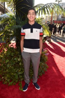 """HOLLYWOOD, CALIFORNIA - APRIL 04: Actor Marcus Scribner attends The World Premiere of Disney's """"THE JUNGLE BOOK"""" at the El Capitan Theatre on April 4, 2016 in Hollywood, California. (Photo by Alberto E. Rodriguez/Getty Images for Disney) *** Local Caption *** Marcus Scribner"""