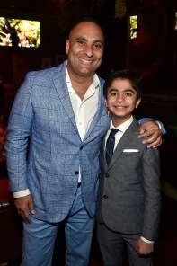 """HOLLYWOOD, CALIFORNIA - APRIL 04: Actors Russell Peters (L) and Neel Sethi attend The World Premiere of Disney's """"THE JUNGLE BOOK"""" at the El Capitan Theatre on April 4, 2016 in Hollywood, California. (Photo by Alberto E. Rodriguez/Getty Images for Disney) *** Local Caption *** Russell Peters; Neel Sethi"""