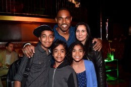 """HOLLYWOOD, CALIFORNIA - APRIL 04: Actor Jason George and family attend The World Premiere of Disney's """"THE JUNGLE BOOK"""" at the El Capitan Theatre on April 4, 2016 in Hollywood, California. (Photo by Alberto E. Rodriguez/Getty Images for Disney) *** Local Caption *** Jason George"""