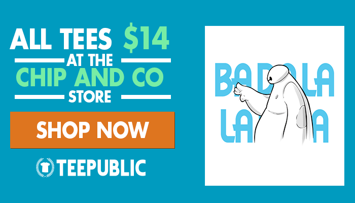 TeePublic Sitewide Sale for April!