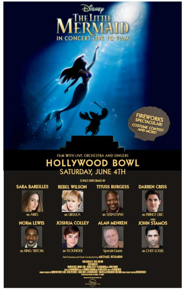 """Rebel Wilson and Sara Bareilles Will Perform in """"The Little Mermaid"""" Concert"""