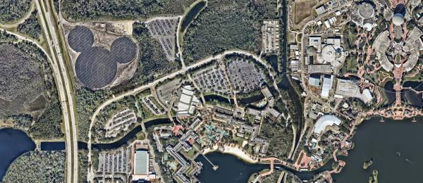 Walt Disney World's Giant Mickey-shaped Solar Facility is Up and Running