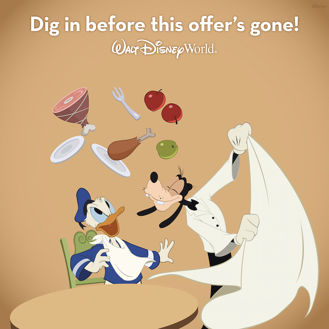 Free Dining Offer Confirmed by Disney!