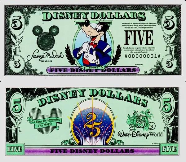Is Disney getting Rid of Disney Dollars?