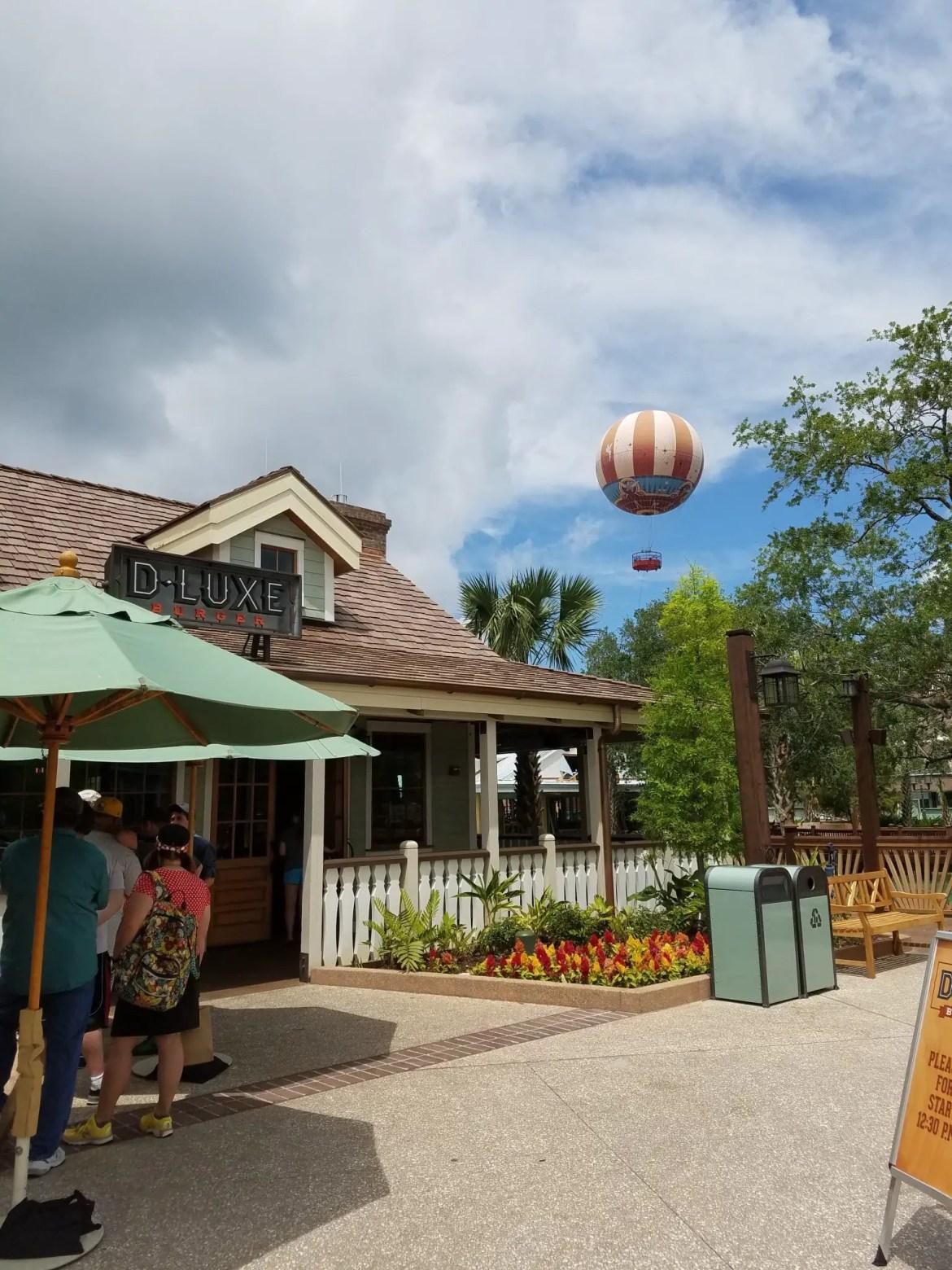Now Open D-Luxe Burger at Disney Springs Town Center