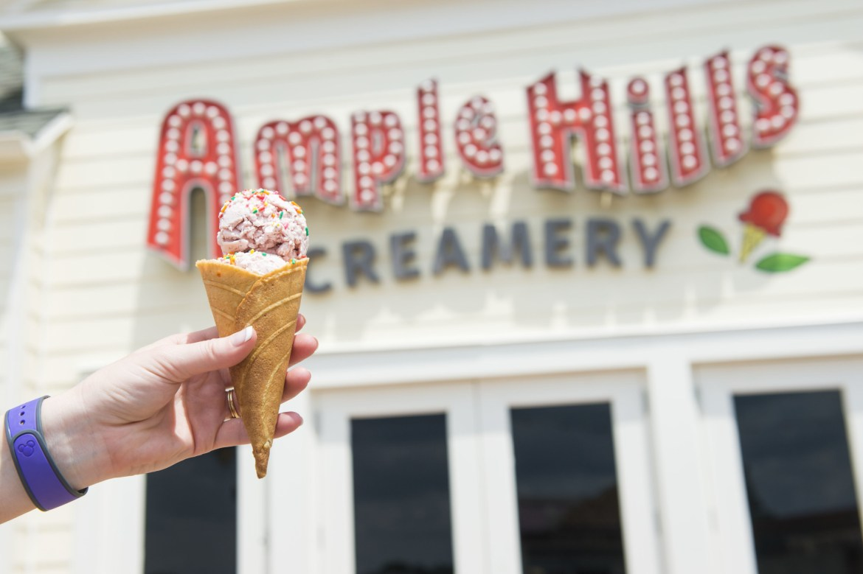 Ample Hills Creamery Is Now Open at Disney's Boardwalk