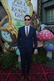 """Sacha Baron Cohen arrives at The US Premiere of Disney's """"Alice Through the Looking Glass"""" at the El Capitan Theater in Los Angeles, CA on Monday, May 23, 2016. .(Photo: Alex J. Berliner/ABImages)"""