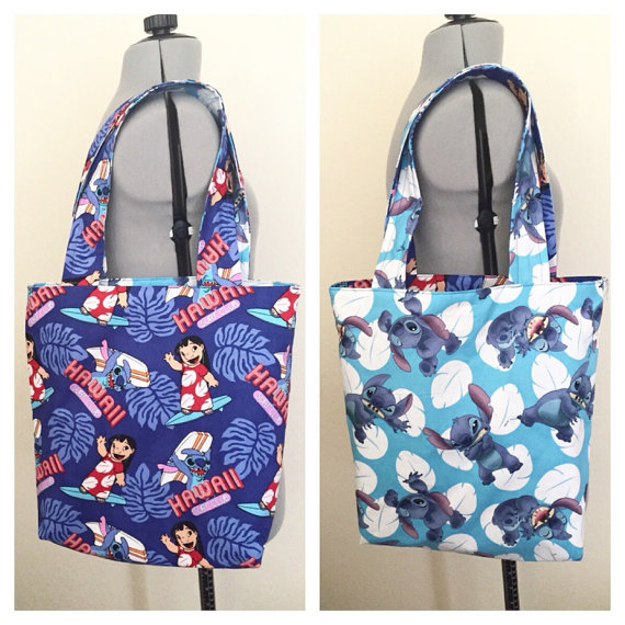 Carry Your Summer Gear in This Cute Lilo & Stitch Beach Bag