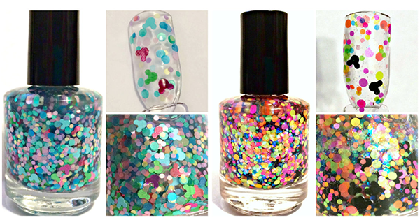 Dazzling Mickey Mouse Nail Polish Inspired by Disney Attractions